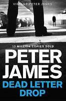 Dead Letter Drop by James, Peter, Good Used Book (Paperback) FREE & FAST Deliver