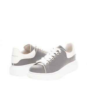 RRP €430 ALEXANDER McQUEEN Reflective Sneakers Size 36 UK 3 US 6 Made in Italy