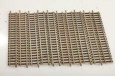 Fleischmann N piccolo 9101 10 appena binari 111mm sporco/carenze/smantellamento! f#73