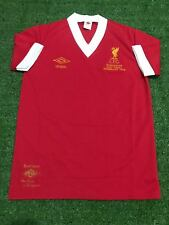 """Liverpool 1977-1978 HOME European Cup FINAL WEMBLEY ( Size S38"""" )"""