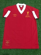 "Liverpool 1977-1978 Home European Cup Final Wembley ( Size S38"" )"