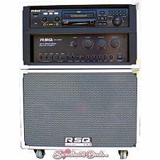 RSQ Audio J-Box II w/ NEO-22 Mobile Karaoke Player Machine Entertainment System