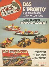 X7611 Das è pronto per le tue idee - Navi & Cars - Pubblicità del 1977 - Advert.