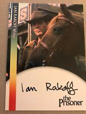 THE PRISONER: AUTOGRAPH CARD: IAN RAKOFF - WRITER IR1