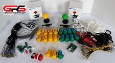 Arcade Sanwa Control Kit! Compatible with Raspberry Pi 3 - Special Bonus