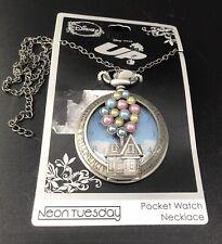 Disney Pixar UP Pocket Watch Necklace NEW