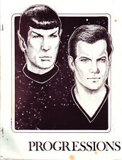 "Star Trek TOS Fanzine ""Progressions""  SLASH and GEN"
