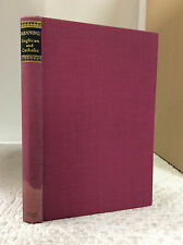MANNING: ANGLICAN AND CATHOLIC By John Fitzsimons, editor- 1951 1st ed.