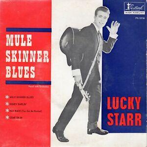 """Lucky Starr EP """"Mule Skinner Blues"""" on Aust. Festival"""