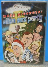 Moby Presents: Alien Sex Party (DVD, 2003) RARE COMEDY SCI FI BRAND NEW