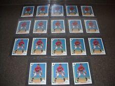 Lot of (18) 1991 Upper Deck #55 Chipper Jones Rookie RC Cards Atlanta Braves HOF