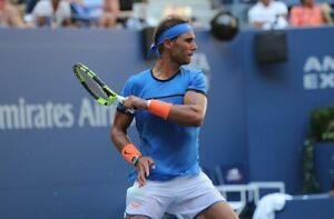 Nike Nadal (S) Tennisshirt US Open 2016 *Rafael Nadal* RAR