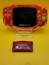 Nintendo GameBoy Advance Glumanda Pokémon Rubin Edition | IPS Display | Neu