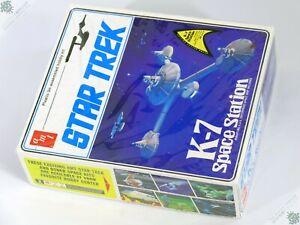 AMT STAR TREK K-7 SPACE STATION USS ENTERPRISE MODEL KIT SHIP SCI-FI TOY UNUSED