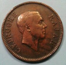Sarawak 1 cent coin1927