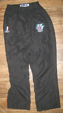 NBA REEBOK UTAH JAZZ GAME WORN USED PANTS SZ W 44 L 38 JERSEY UNIFORM BLANK BLK