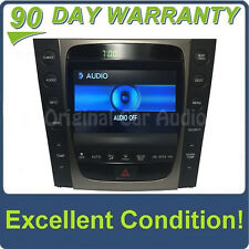 Lexus GS430 Navigation GPS System Information Display Screen Monitor Climate