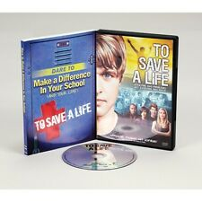 To Save a Life DVD and Dare to make a Difference in your School Book Pair set