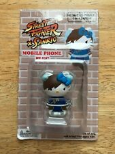 Hello Kitty Street Fighter Sanrio Mobile Phone Plug Chun-Li