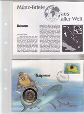 Numisbriefe aus aller Welt - Bahamas - und Infokarte