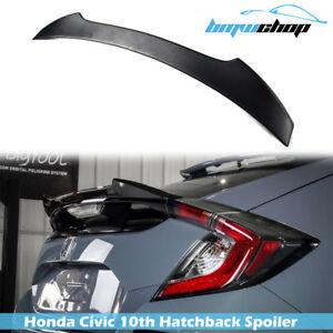 Fit For Honda CIVIC X 10th Hatchback 16-20 V Sport Rear Trunk Spoiler UnPaint