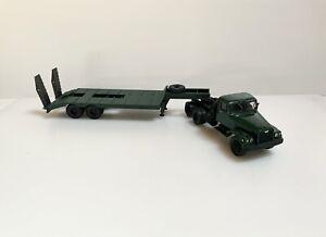 1/43 KrAZ-255 Military Truck with Lowboy Trailer 1995 Kimmeria Handmade