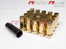 Gold GT50 Wheel Nuts x 20 12x1.25 Fits Nissan 200sx S12 S13 S14 S15 Sylvia