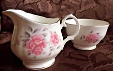 Beautiful Duchess Milk jug/Creamer & Sugar Bowl Set ~ Good Condition ~ Unused