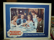 PAINTING THE CLOUDS WITH SUNSHINE orig 1951 LC #5 (Virginia Mayo, Dennis Morgan)