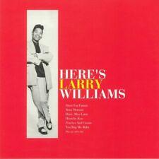 Larry Williams - Here's Larry Williams Vinyl LP WLV82083