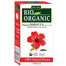 Original Indus Valley Organic Hibiscus Powder 100 Grams Free Shipping
