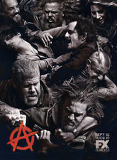 Sons of Anarchy print ad 2013 FX series Ron Perlman, Charlie Hunnam