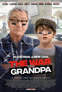 The War with Grandpa (2020) DVD NEW  FREE SHIPPING WITH TRACKING