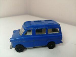 corgi whizzwheels martin walter ford transit caravan