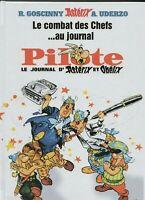 Astérix. Le combat des chefs au journal PILOTE. Cartonné 48 pages. HORS COMMERCE