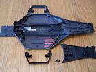 Traxxas Drag Slash 2wd LCG Chassis Upper Lower Battery Strap & Nerf Bars 94076-4