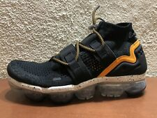 c2b20dfef5b NIKE AIR VAPORMAX FK UTILITY BLACK ORANGE PEEL AH6834 008 size 10 NEW