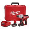 "NEW MILWAUKEE 2412-22XC M12 12 VOLT CORDLESS 1/2"" SDS PLUS ROTARY HAMMER DRILL"