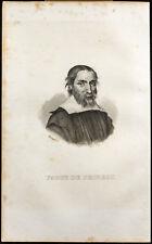 Portrait (1838) - Fabri de Peiresc (Nicolas-Claude) - Carte de la Lune