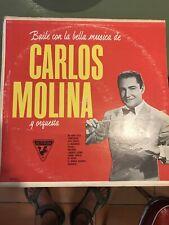 Carlos Molina-Baile Con La Musica-Sutton Latino Lp-muy Buenas