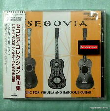 Segovia RARE M! Japan CD Music For Vihuela & Baroque Guitar Roncalli Milan Decca