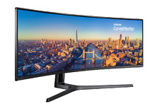 """Samsung C49J890 49"""" 144Hz Ultra Wide Curved Gaming Monitor 48.9"""" Display *"""
