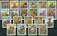 Südafrika South Africa 512 - 528 + 529 - 532 postfrisch MNH Motiv Flowers,Blumen