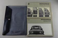 Manual de Instrucciones + Instrucciones Servicio VW Tipo 4 412 E Von 8/1972