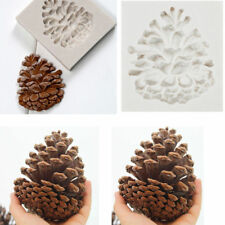 3D Pinecones Silicone Fondant Mold Cake Decorating Baking Sugarcraft Mould Tools