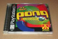 Pong: The Next Level for Playstation PS1 Complete Fast Shipping!