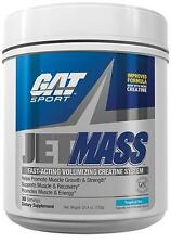 GAT JET MASS Post-Workout German Creatine 30 Servings TROPICAL ICE JetMass