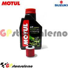 TAGLIANDO OLIO + FILTRO MOTUL 5100 10W30 SUZUKI 125 FL SDW ADDRESS 2007