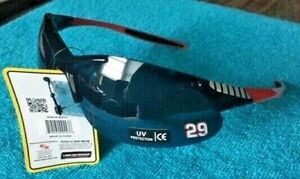 KEVIN HARVICK - #29 BLACK/RED SPORT WRAP STYLE SUNGLASSES ...NEW & VERY NICE