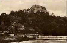 Frankenberg Sachsen 1927 Schloss Sachsenburg Verlag Trinks gelaufen Schönheide